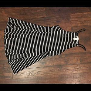 Stripped Mini Sun Dress
